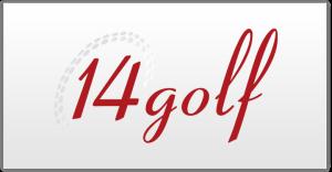 14 golf logo